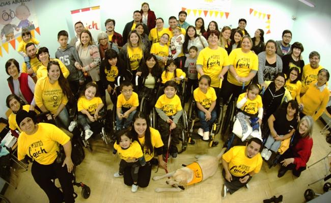 Foto grupal asistentes al Encuentro Foich
